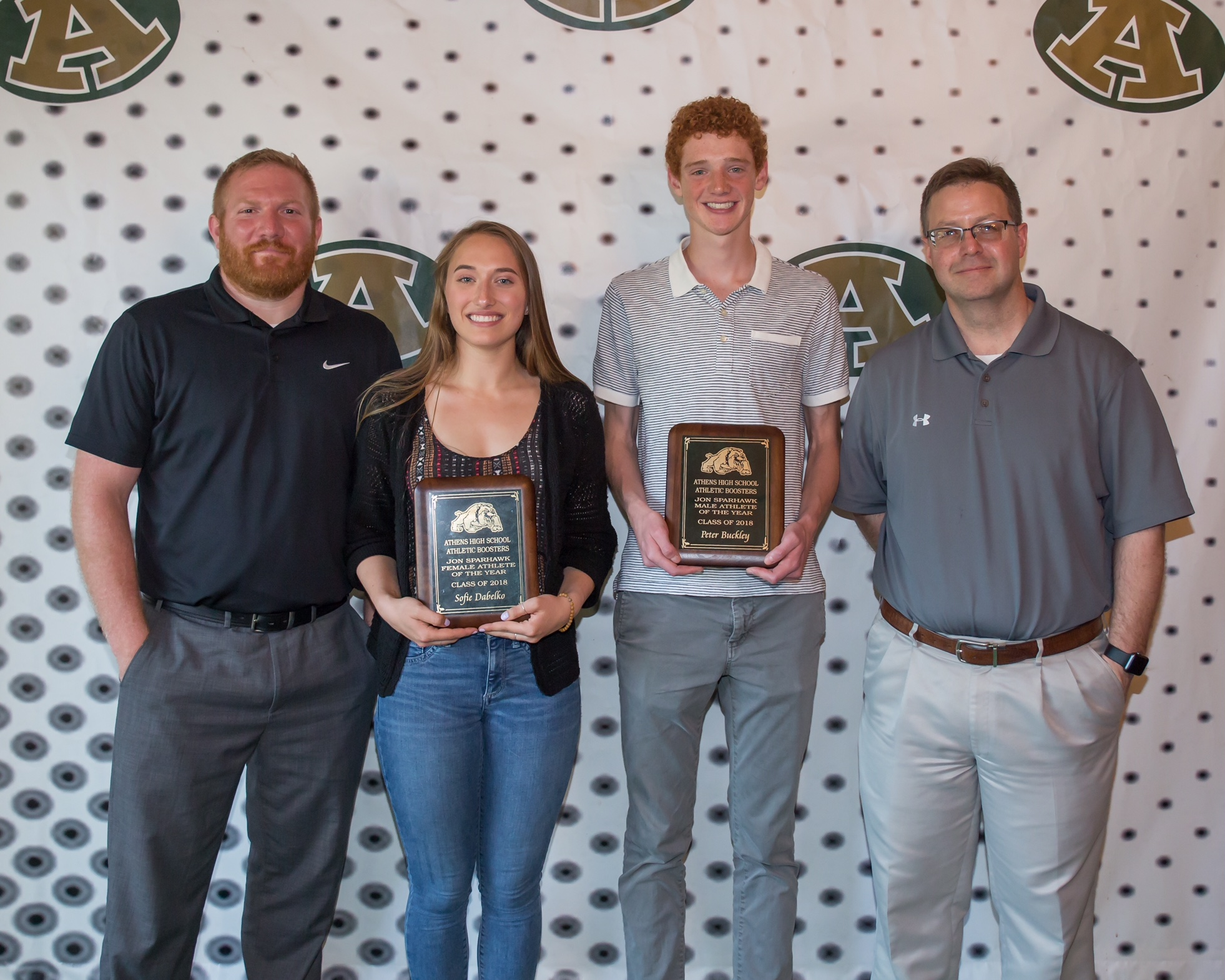 Outstanding Senior Athletes of the Year