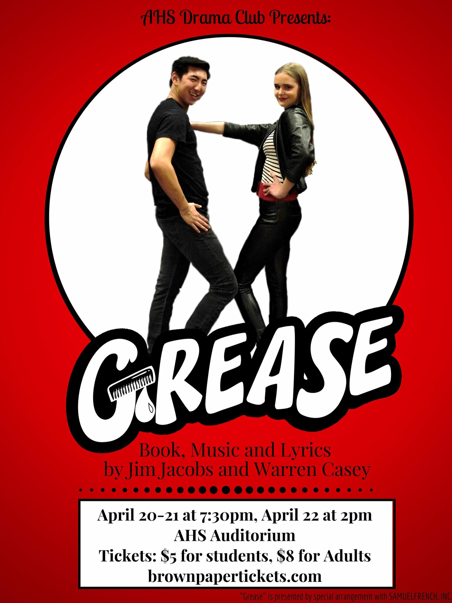 AHS Grease Poster
