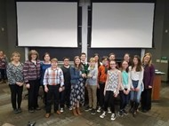 AMS District Science Fair Students 2018