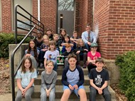 West Elementary Science Fair Participants 2019