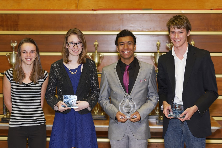 The Ohio Academy of Science State Science Day Winners