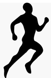 cross country running graphic