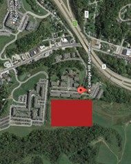 Map of Proposed Location for New K-5 Campus