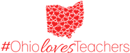 Ohio Loves Tecahers Logo
