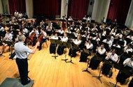 school band concert photo