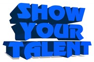 Show Your Talent Word Art