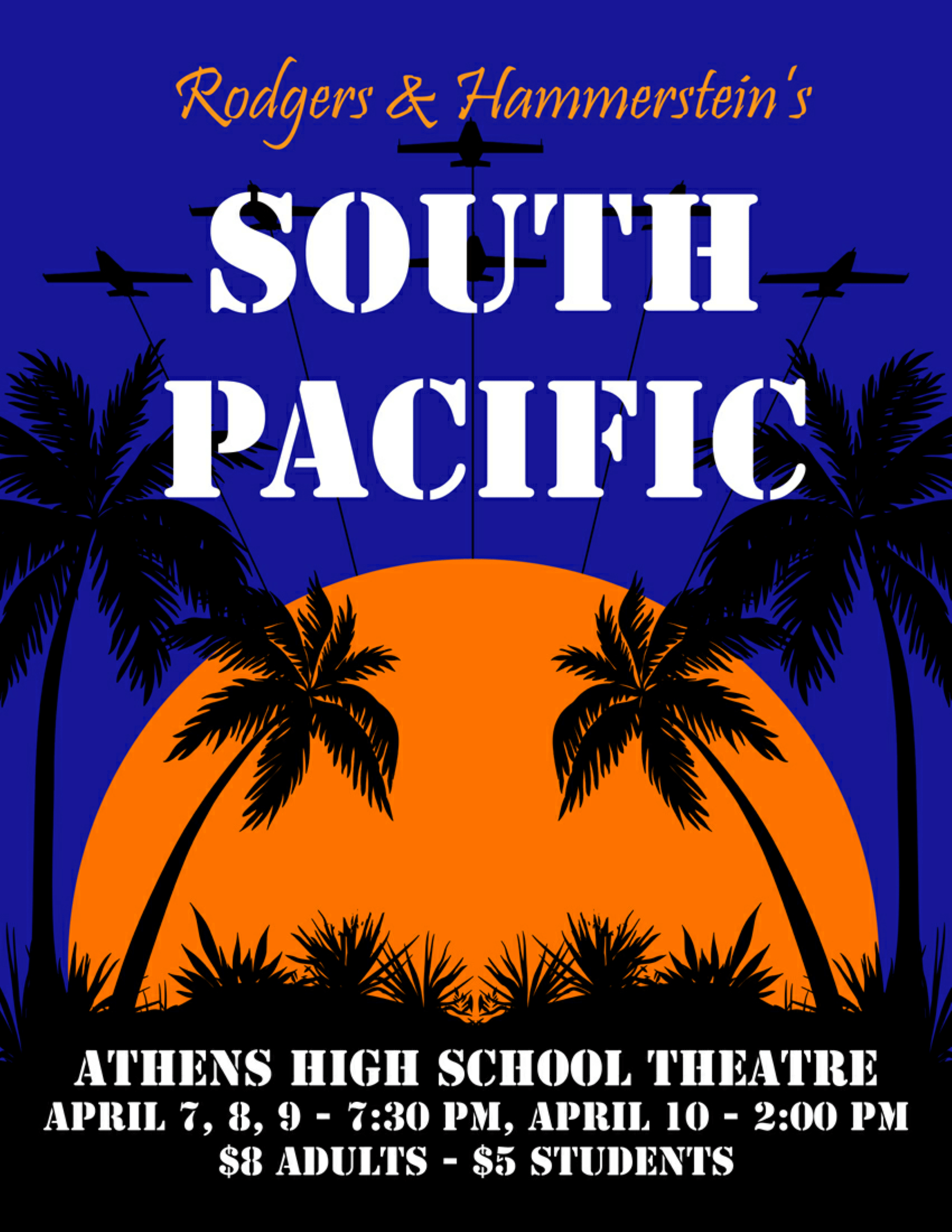 South Pacific Poster