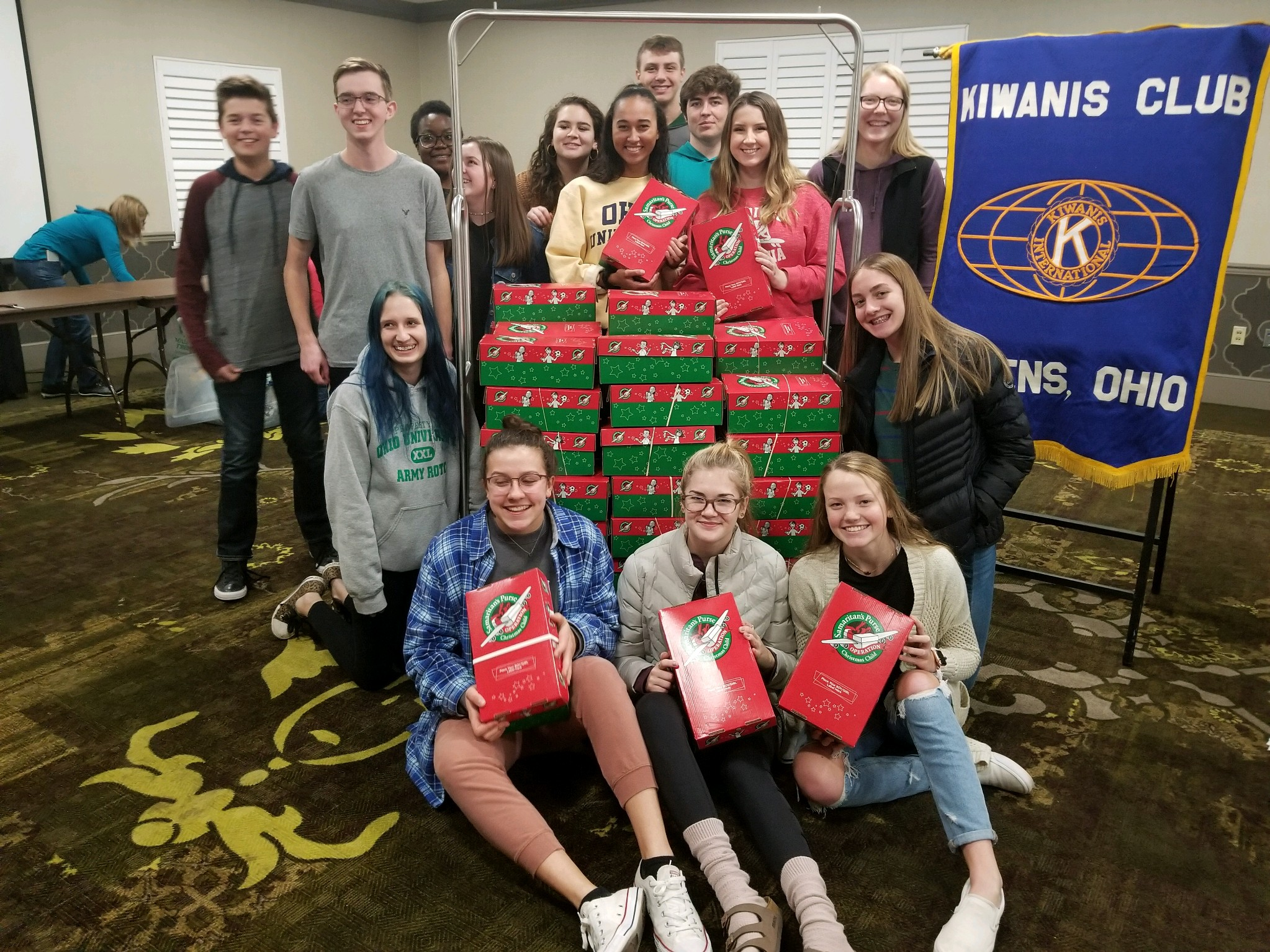 AHS Key Club Operation Christmas Child