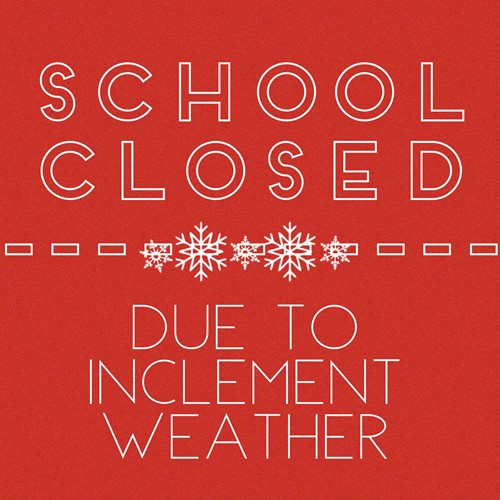 Athens City Schools Closed Today, Wednesday, March 21, 2018