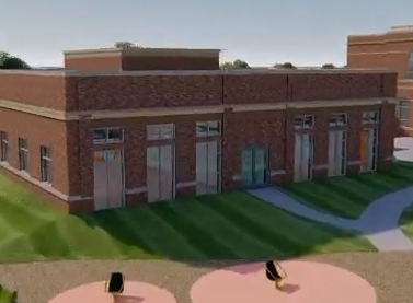 Clip of New East Building Drawing