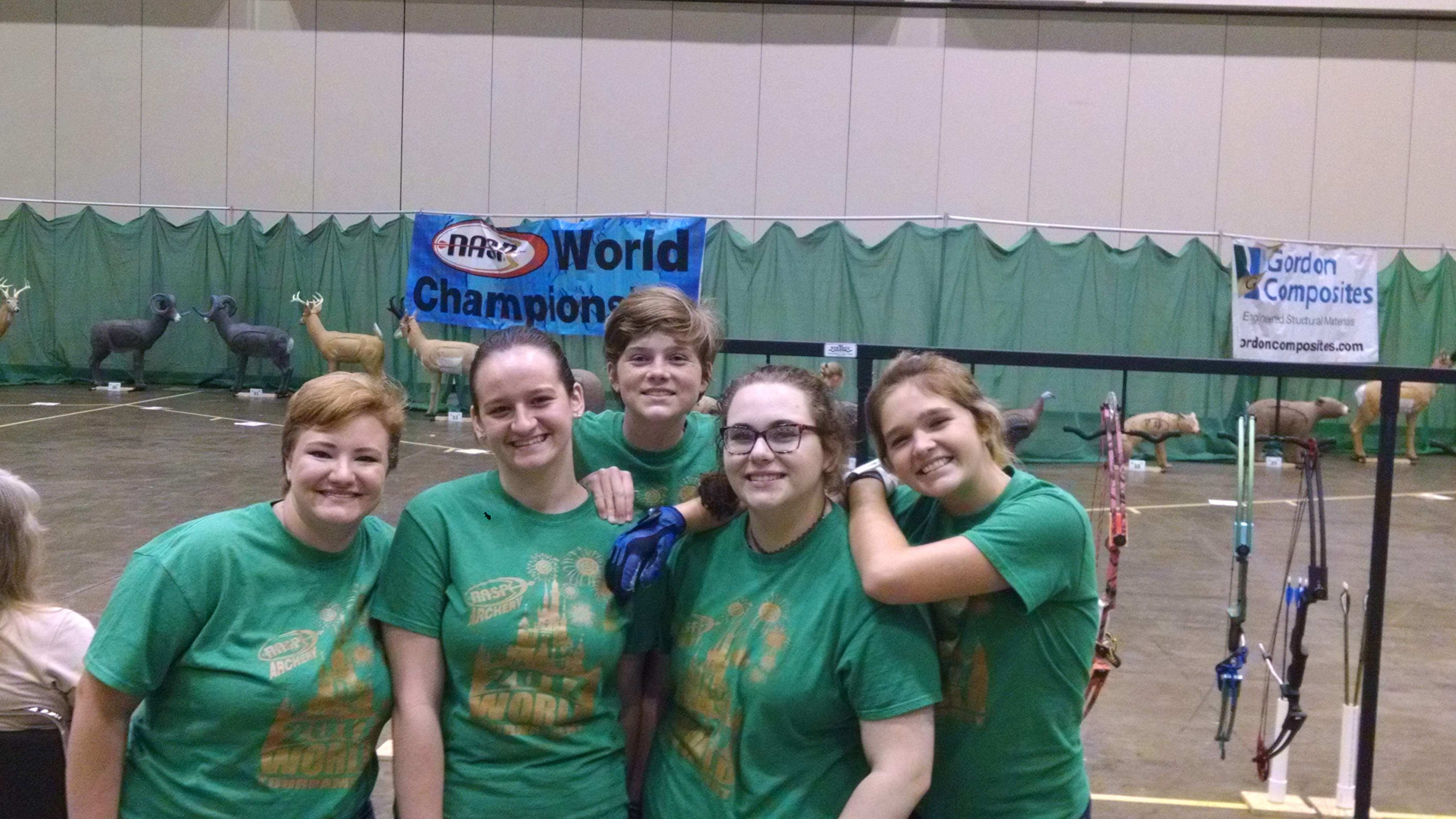 Bulldog Archery Team Competes in World Tournament