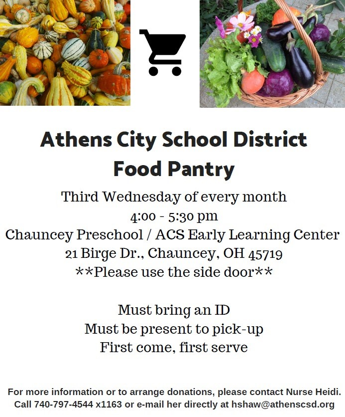 ACSD Food Pantry Information
