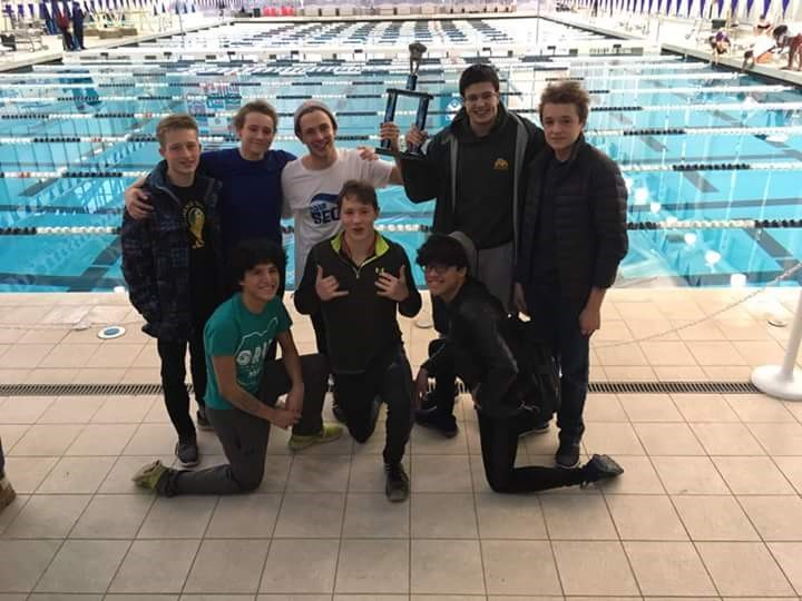 AHS Boys Swimming Team