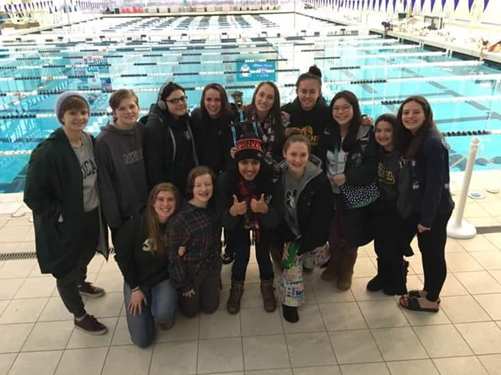 AHS Girls Swimming Team