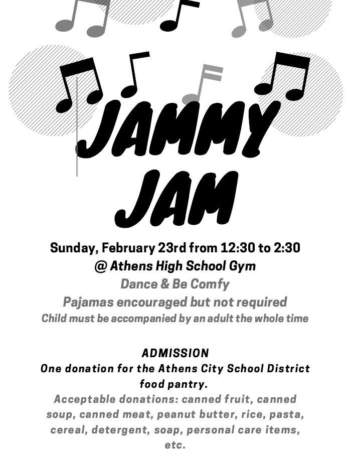 2020 Jammy Jam Invitation