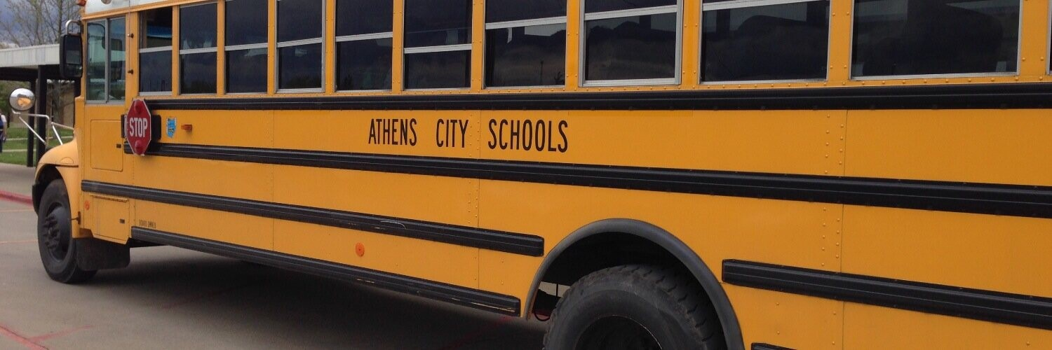 Athens City Schools Bus