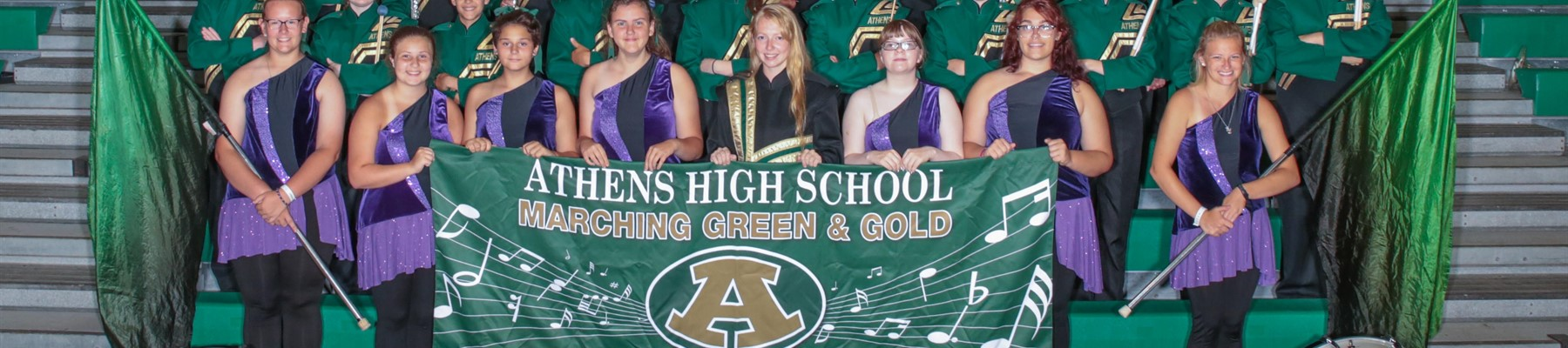 AHS Marching Green and Gold 2019 (1 of 2)