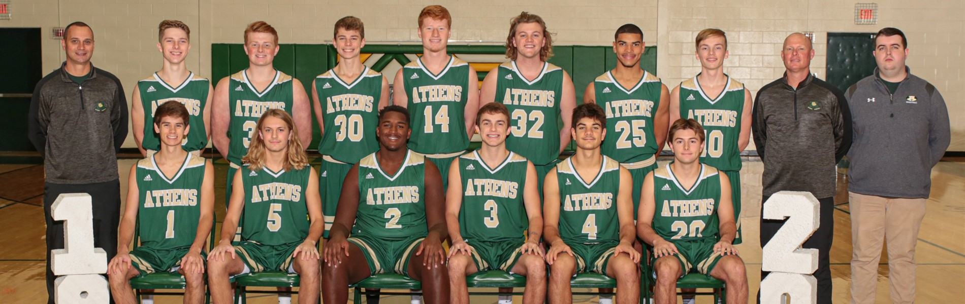 AHS Varsity Basketball Team 2019-2020