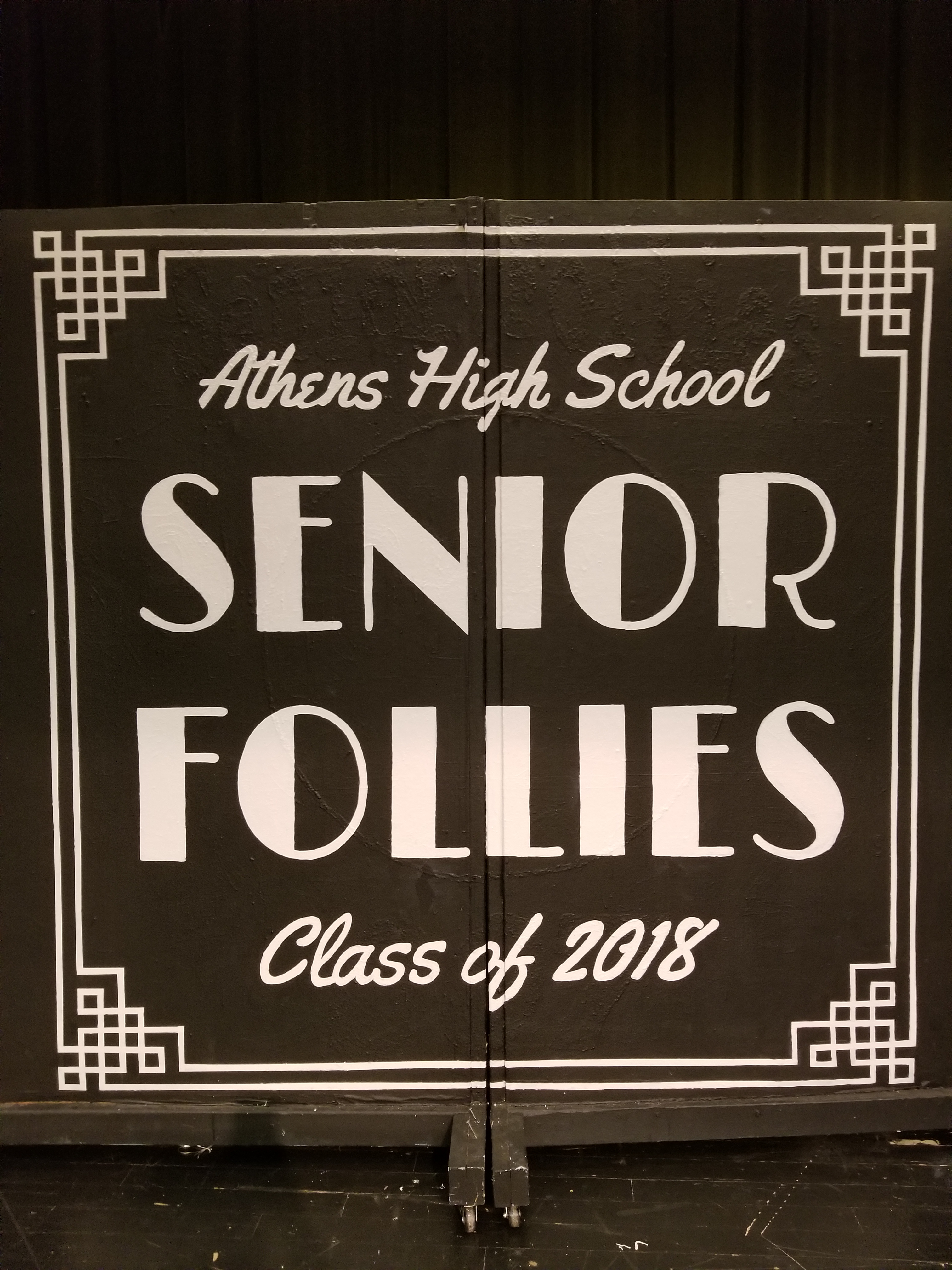 2018 AHS Senior Follies