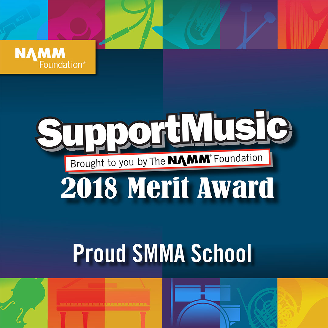 Support Music 2018 Merit Award Logo