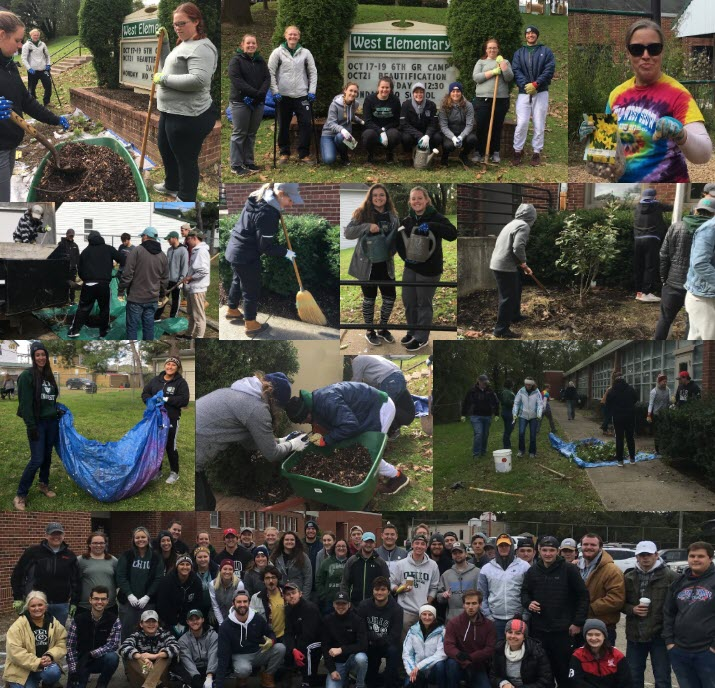 West Beautification Day Collage