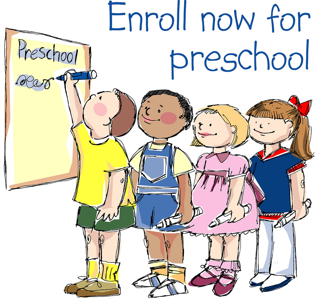 Preschool Registration Graphic