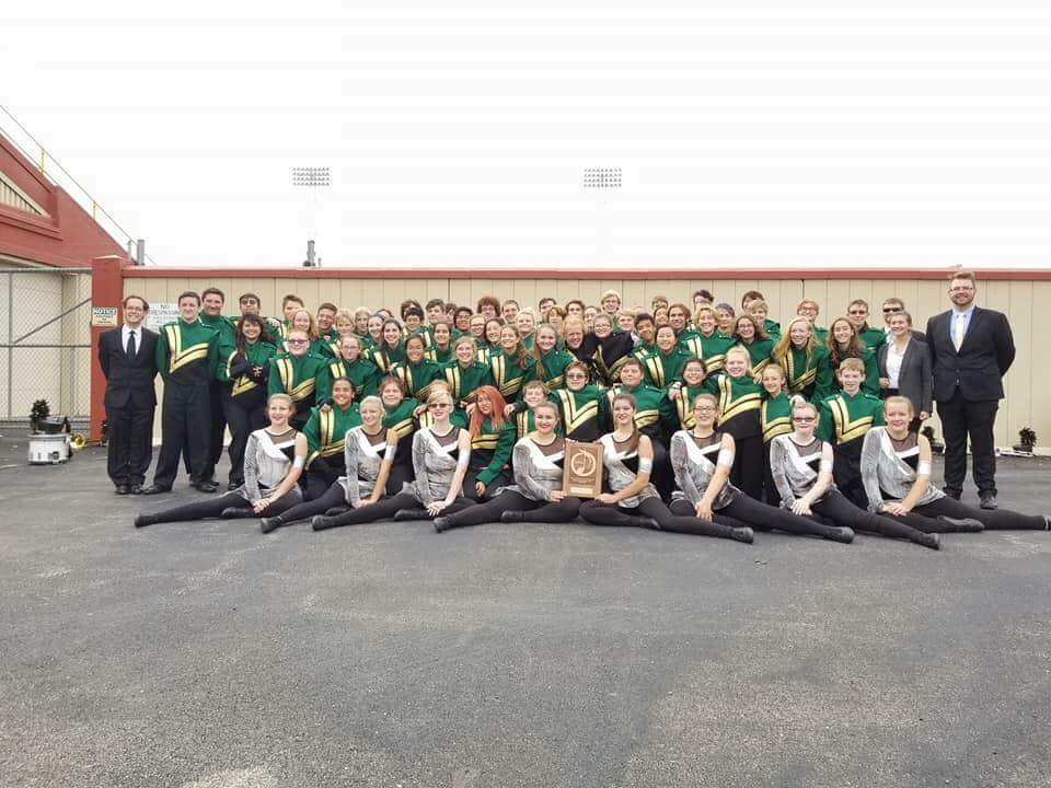 AHS Marching Green and Gold