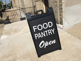 Food Pantry Open