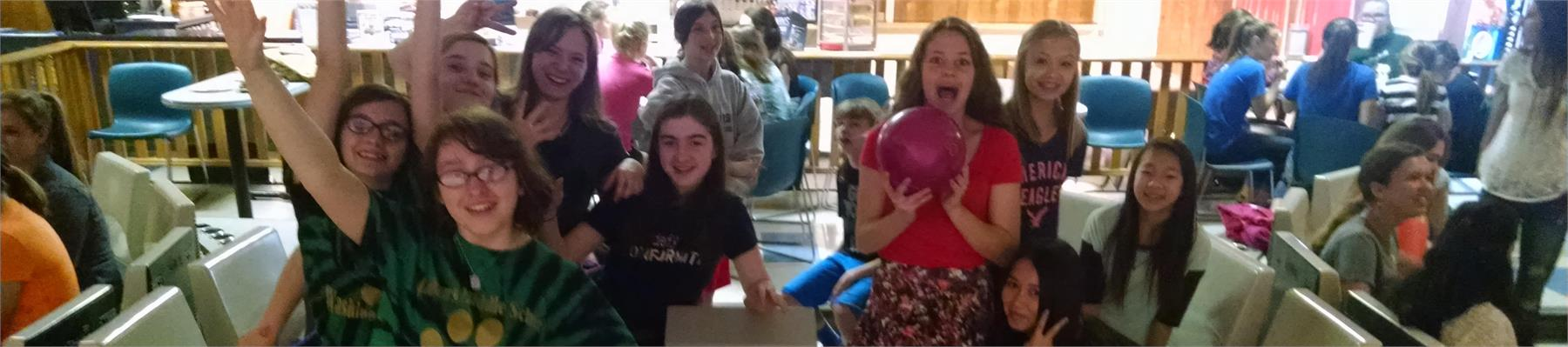 AMS Students Bowling