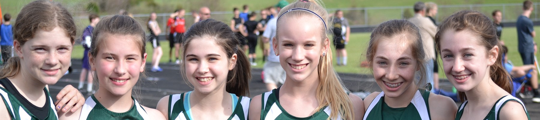 Girls' Cross Country Runners