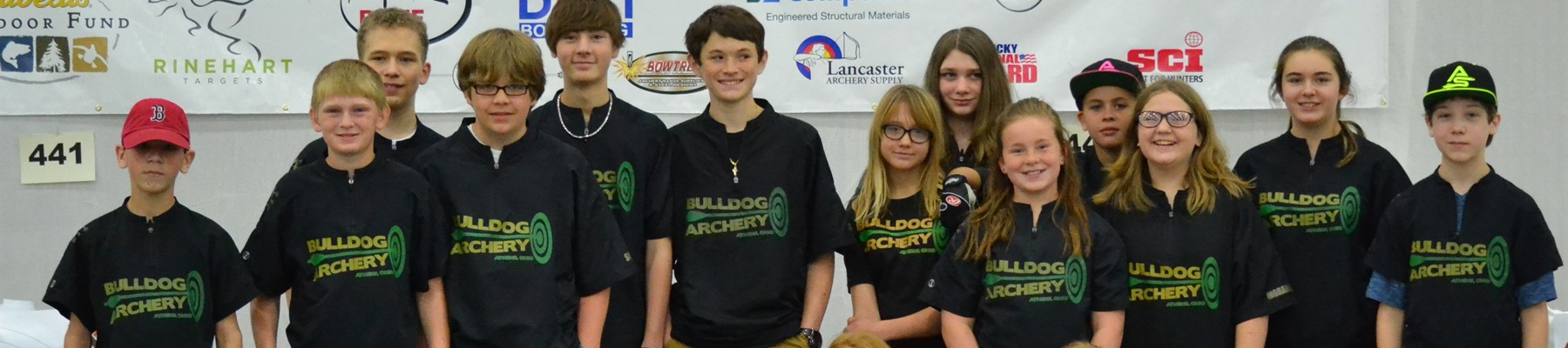 Athens Archery Team Members