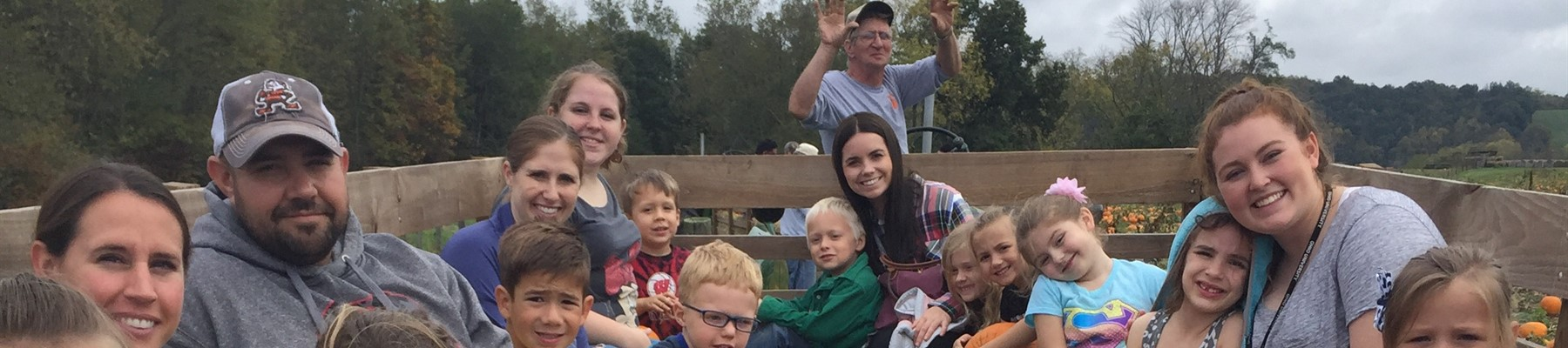 Kindergarten Students Visit Walker's Pumpkin Farm