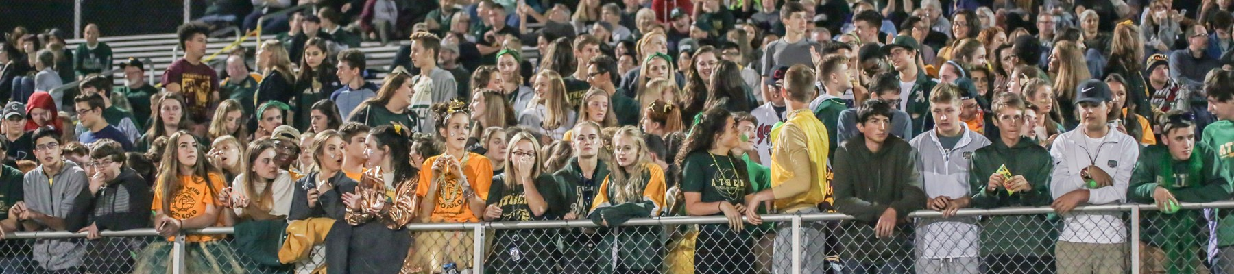 Photo of Students at AHS Homecoming Football Game
