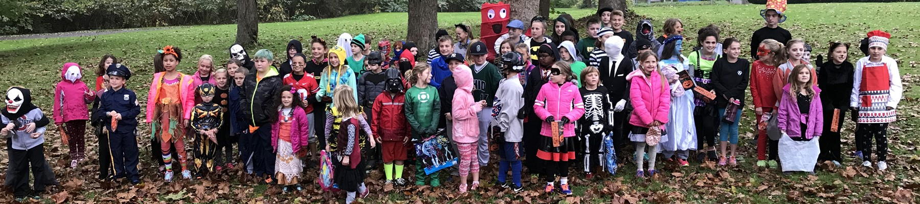 ACS Elementary Cross Country Costume Fun Run