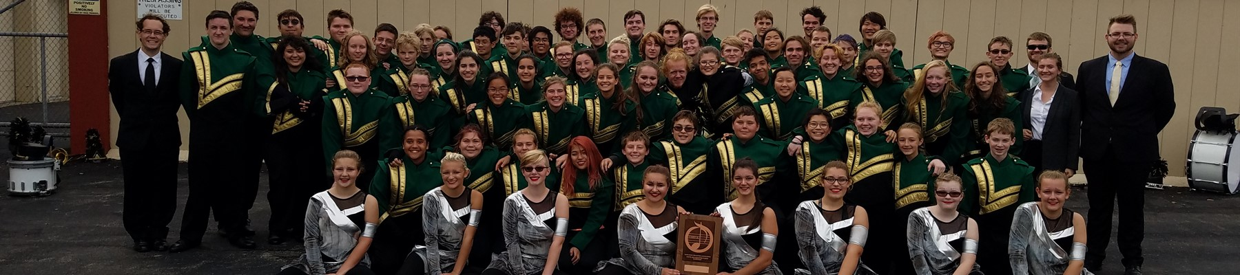 Marching Green & Gold Earns Superior Rating at OMEA State Finals