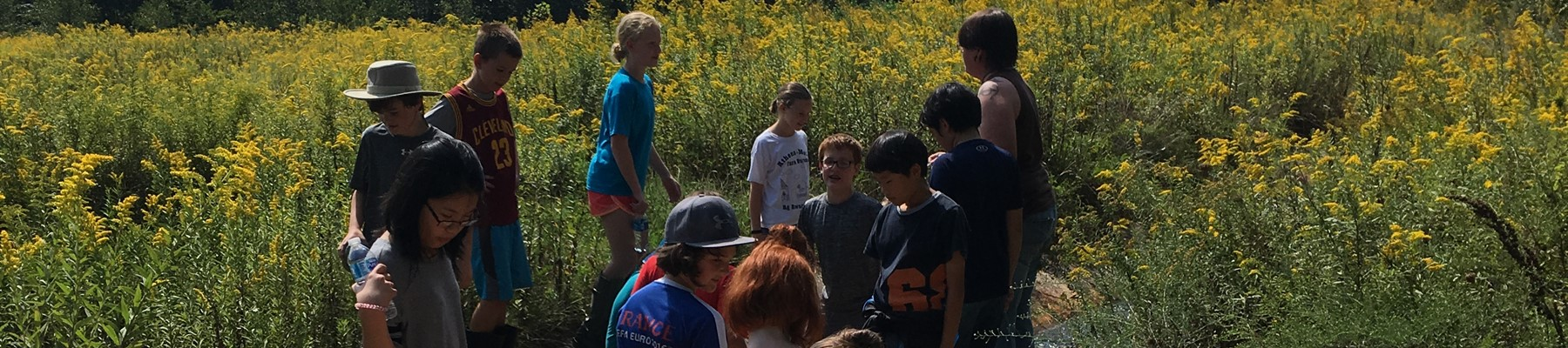 6th Grade HOTS Students September Water Field Trip