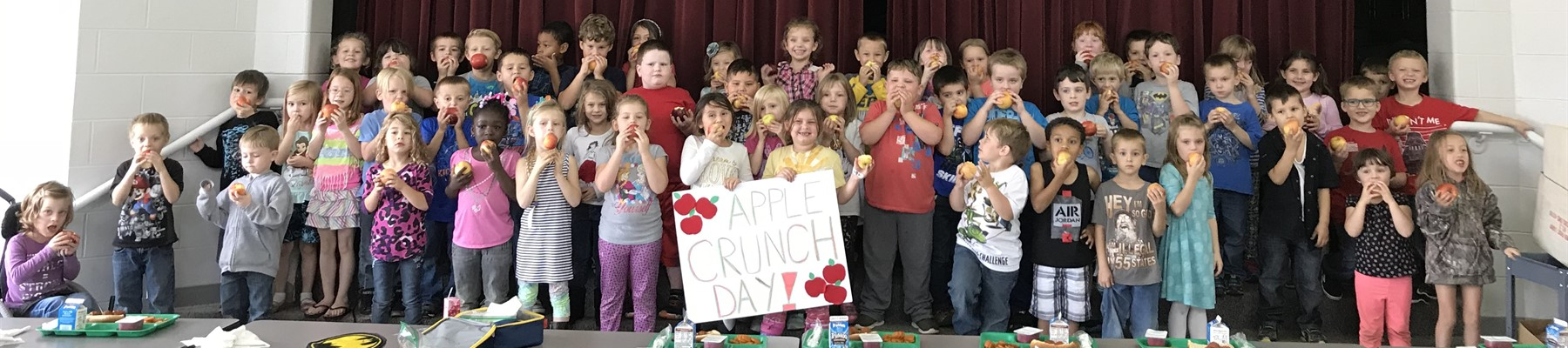 Apple Crunch Day at The Plains Elementary
