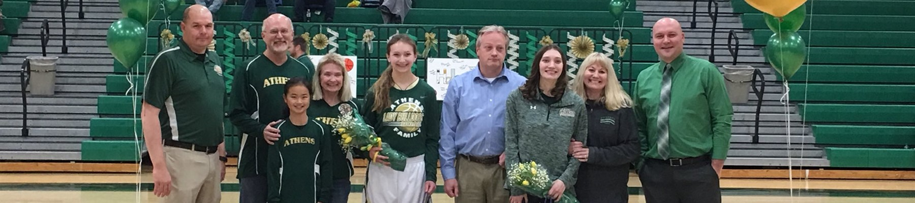 AHS Lady Bulldogs Basketball Senior Night