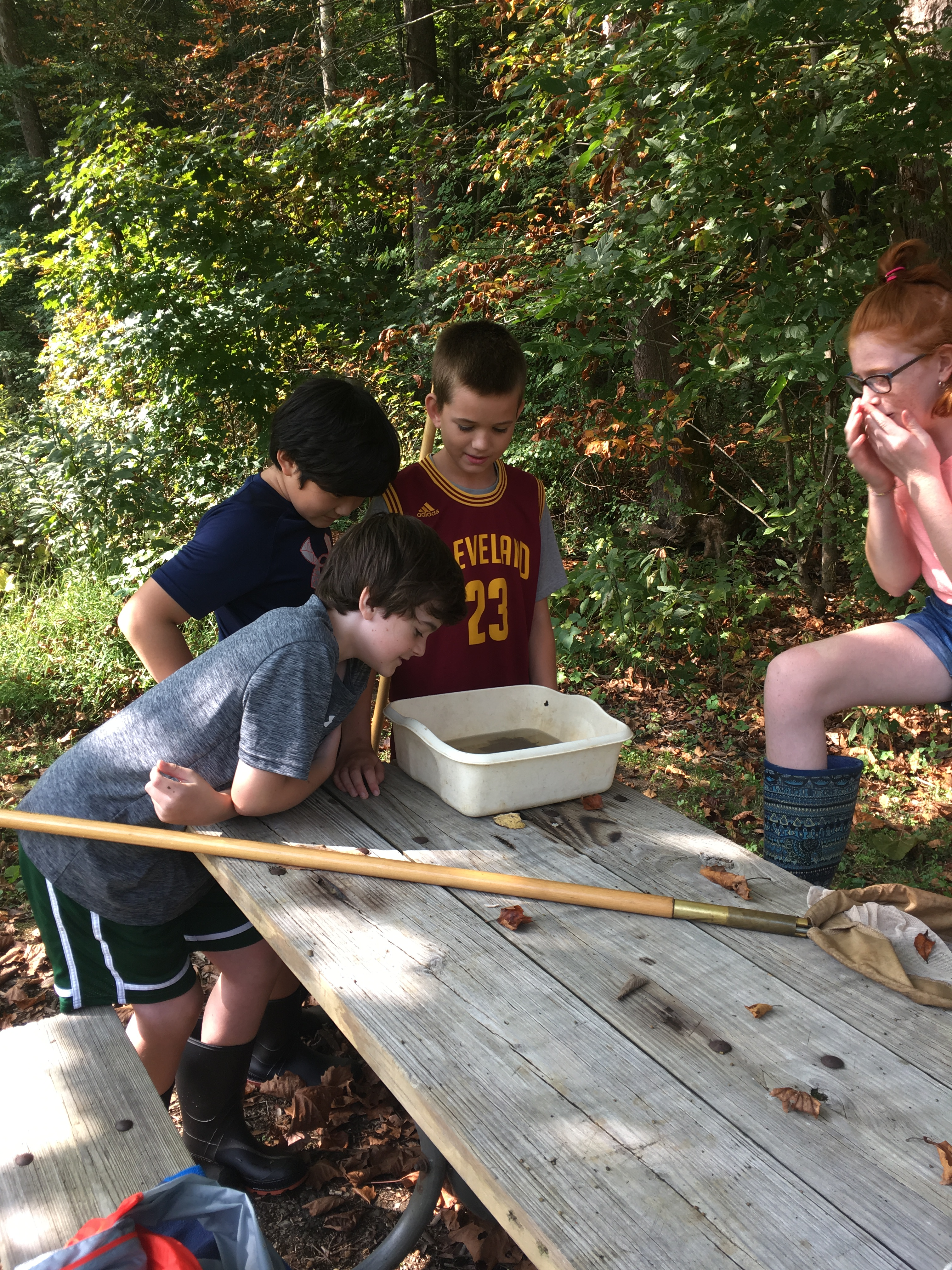September 6th Grade HOTS Water Field Trip