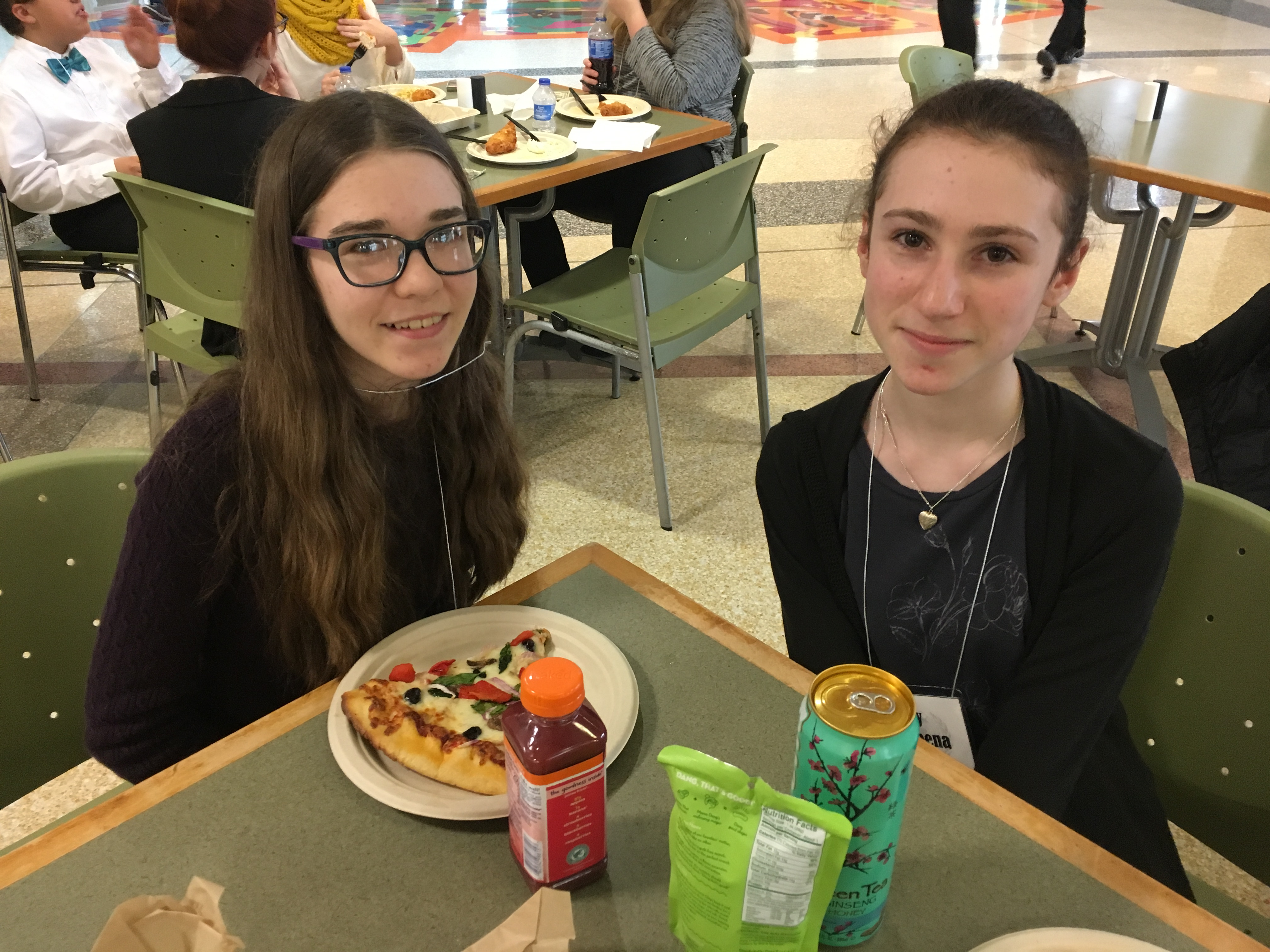 Athens scholars dine at Ohio University Baker Center during Model UN