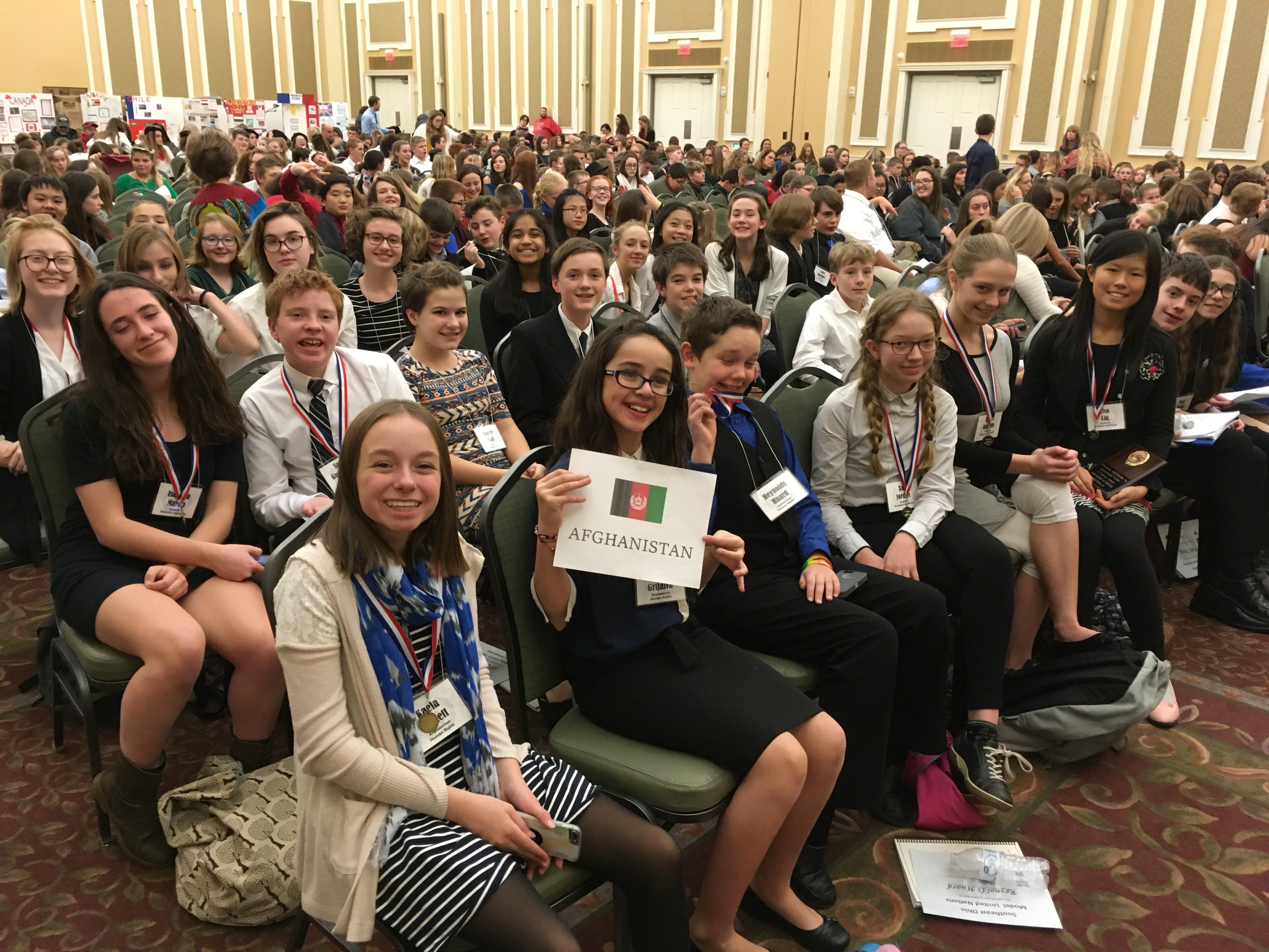 Athens scholars at Model UN