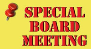 Image result for special board meeting image